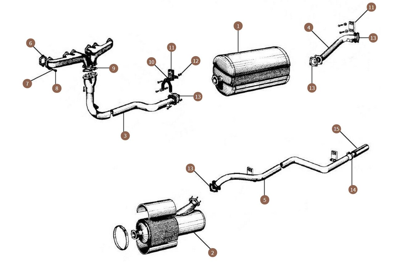 Exhaust System & Components