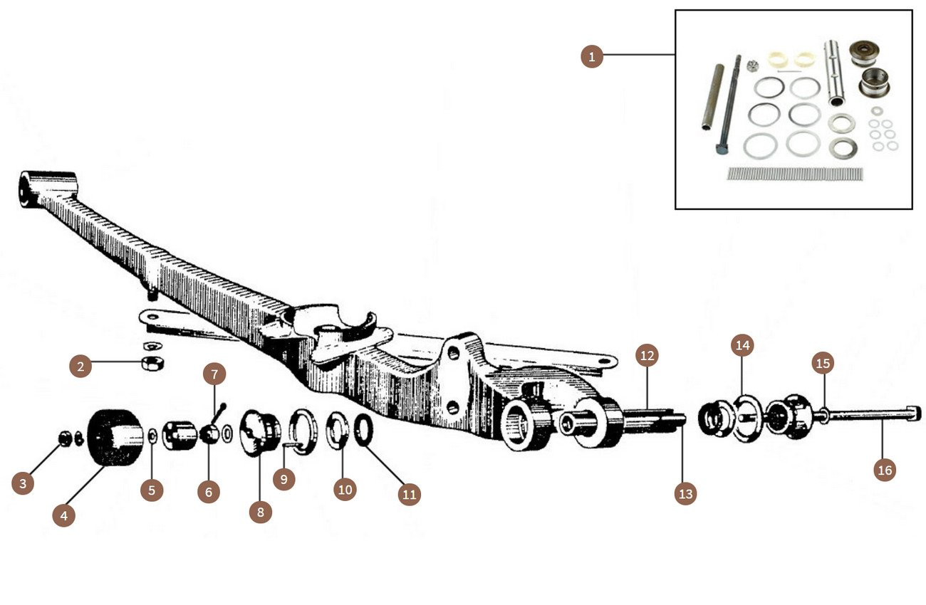 Lower Triangle Lever