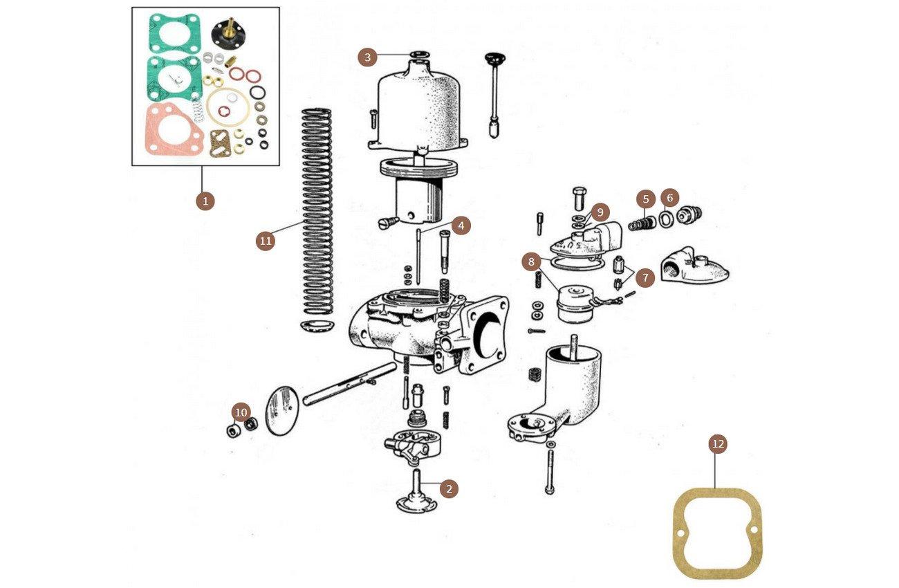 Carburettor  (VIN from Rolls-Royce SWC188 & Bentley B452BS)