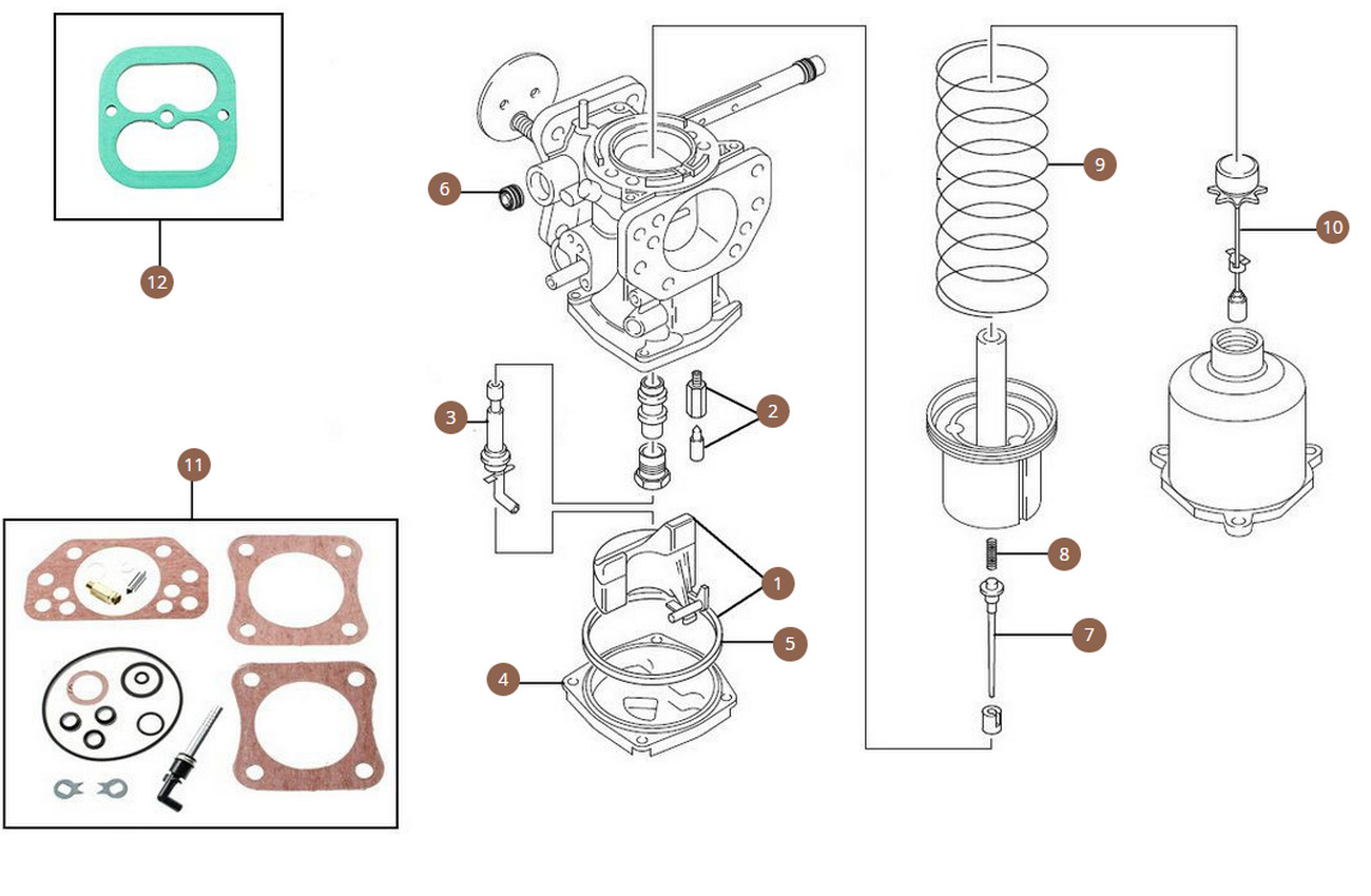 SU carburettor