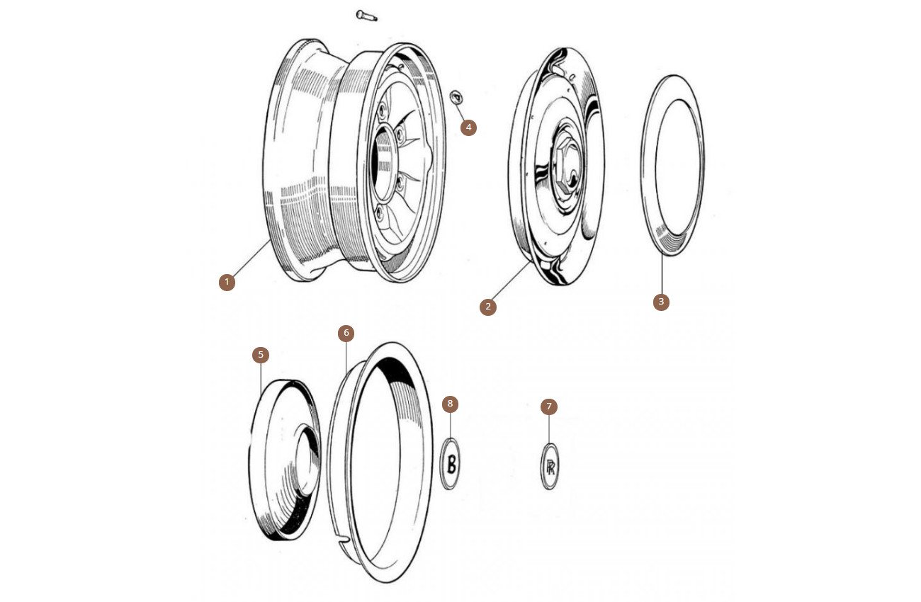 Steel Wheels & Hub Caps