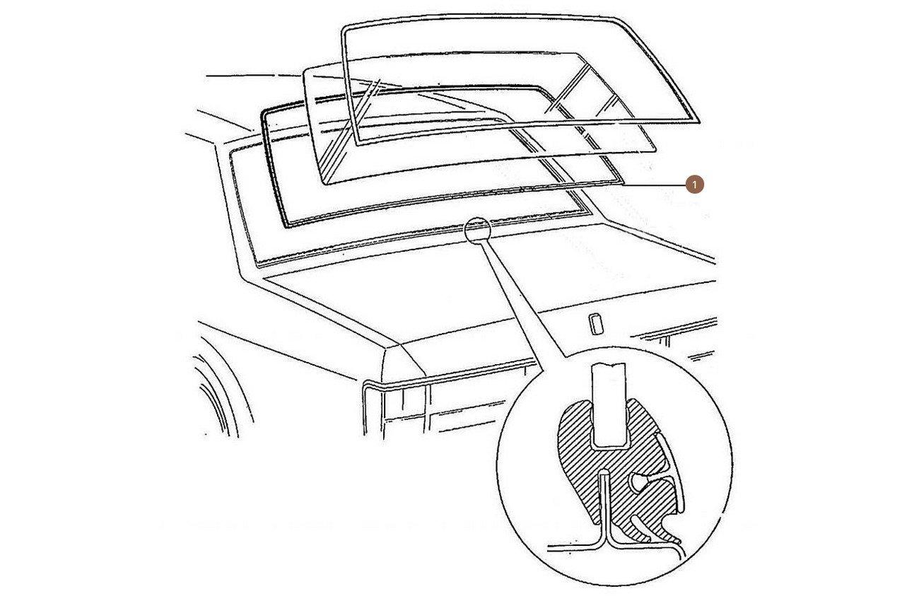 Windscreen & Rear Screen Seals