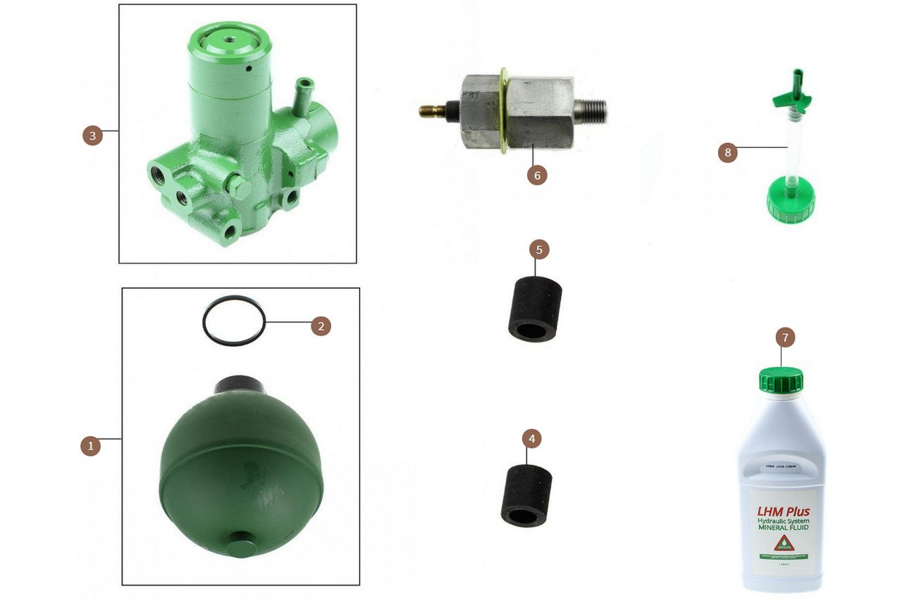 Accumulator Spheres, Valve Bodies & Switch
