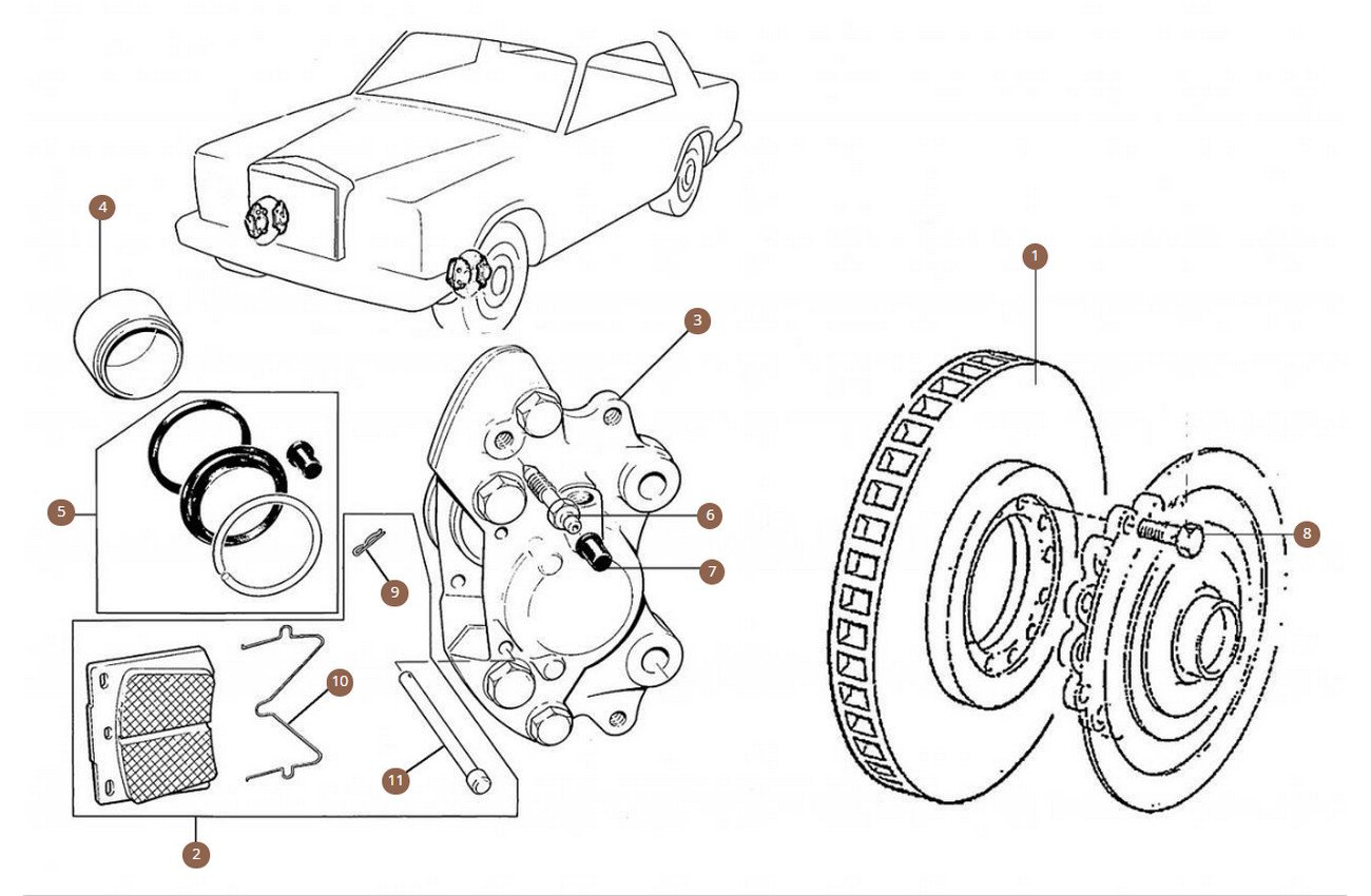 Cars with Standard Brake Disc (280mm)