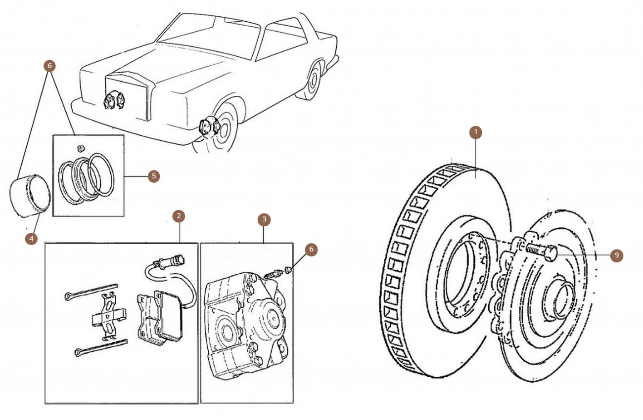 Cars with Big Brake Disc (340mm)
