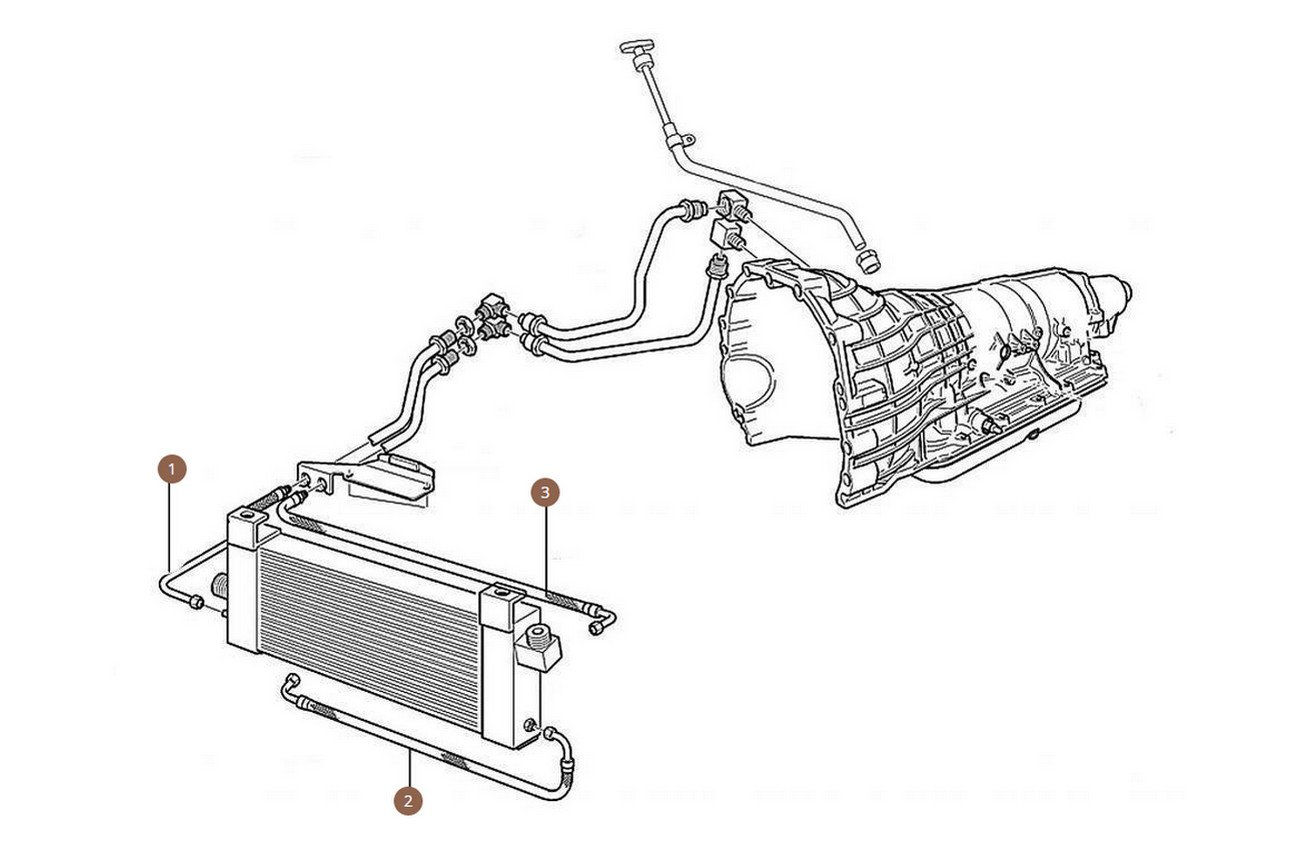 Gearbox Cooler Hoses