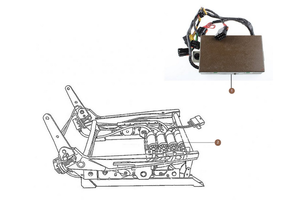 Seat Motors, Switches & Memory units