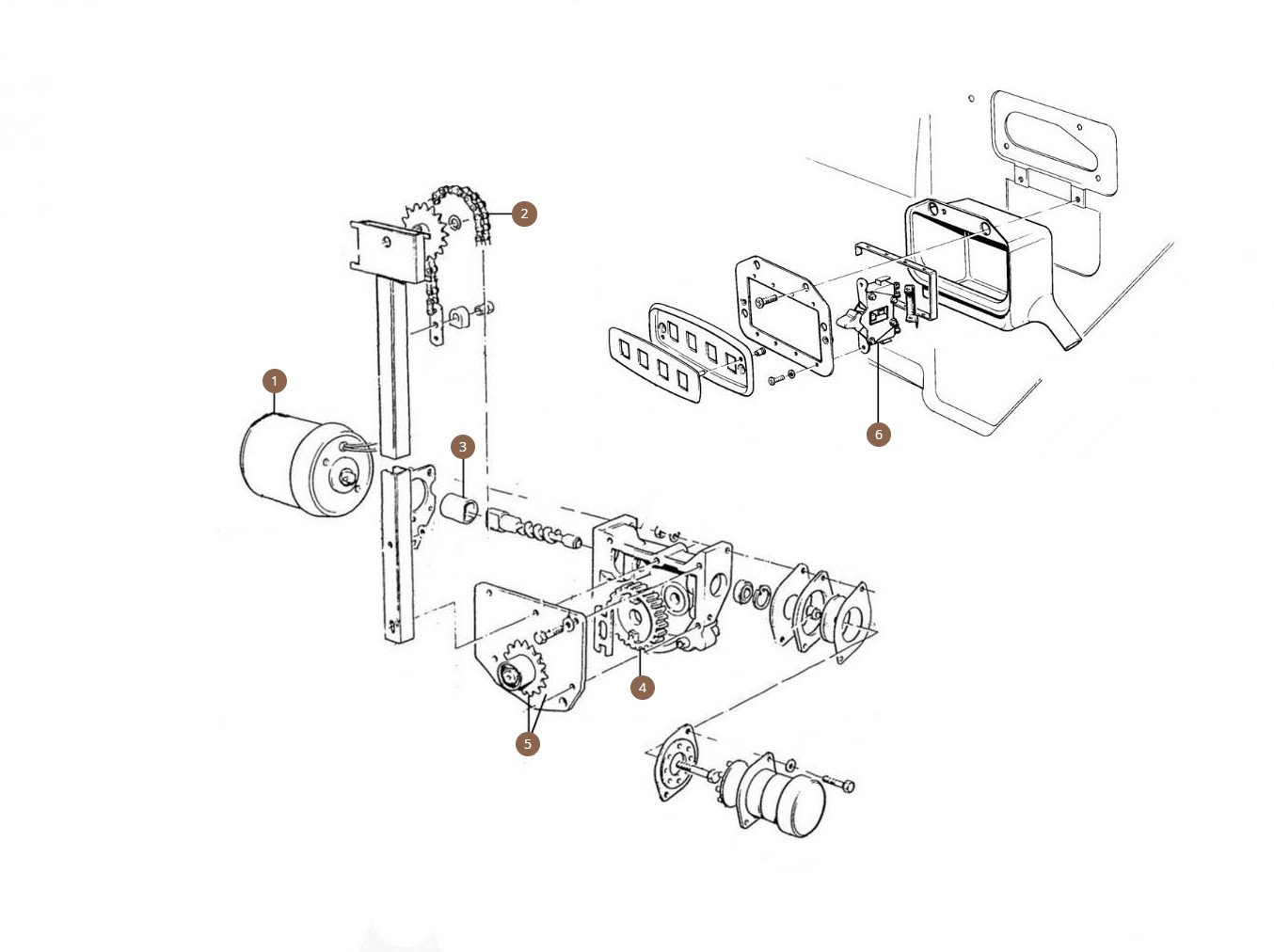 Window Motors, Switches & Components