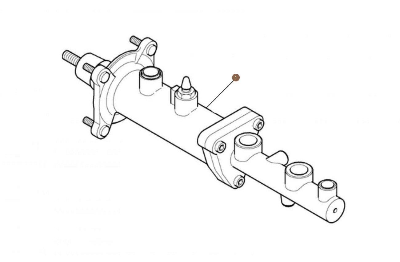 Brake Booster Master Cylinder