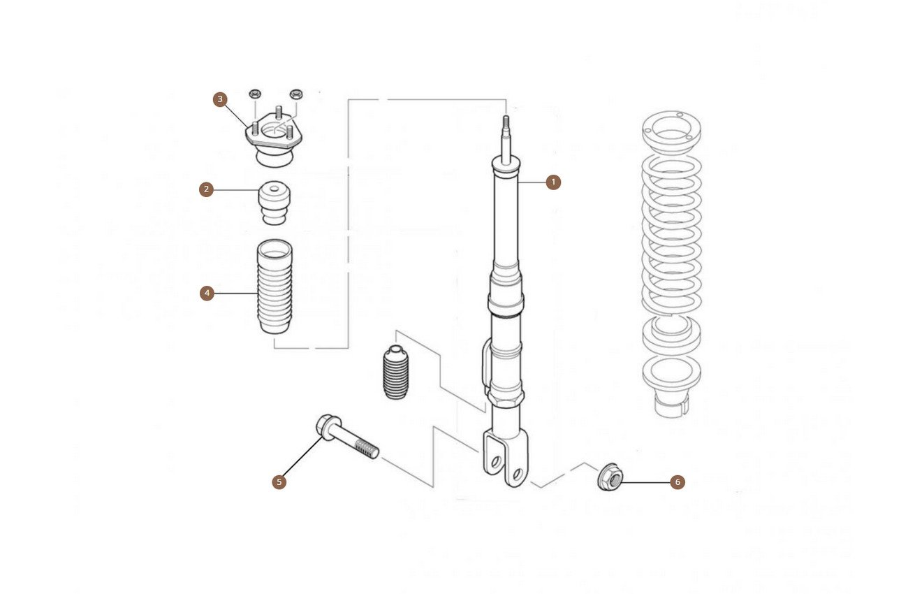 Shock Absorbers Front