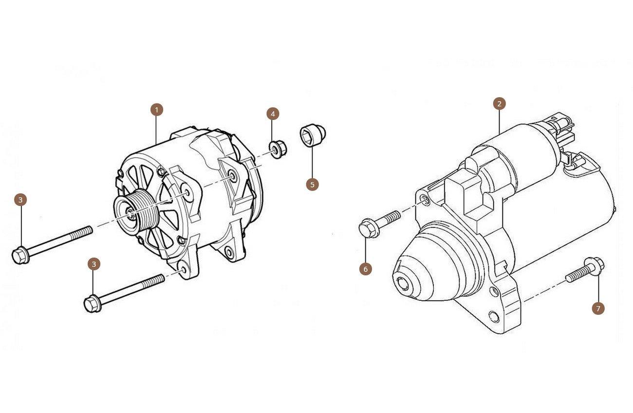 Alternator & Starter Motor