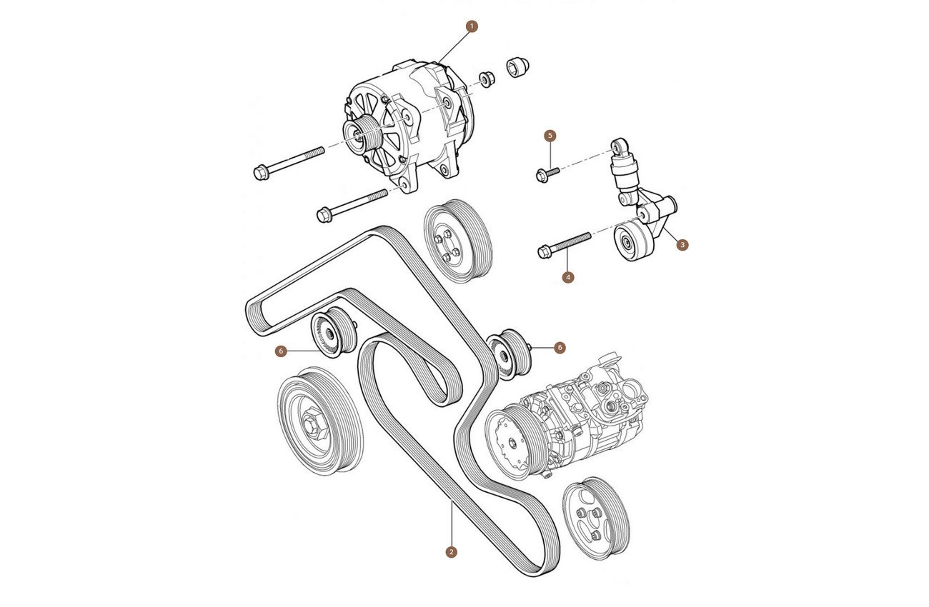 Tensioners, Belts & Pulleys