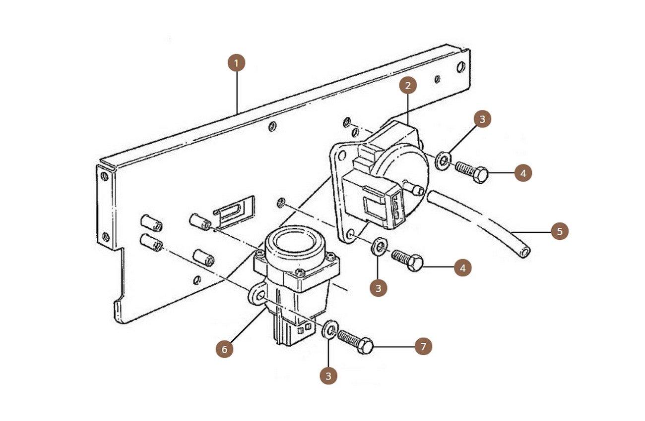 Air Pressure Transducer, Dump Valve & Fuel Cut Off Switches