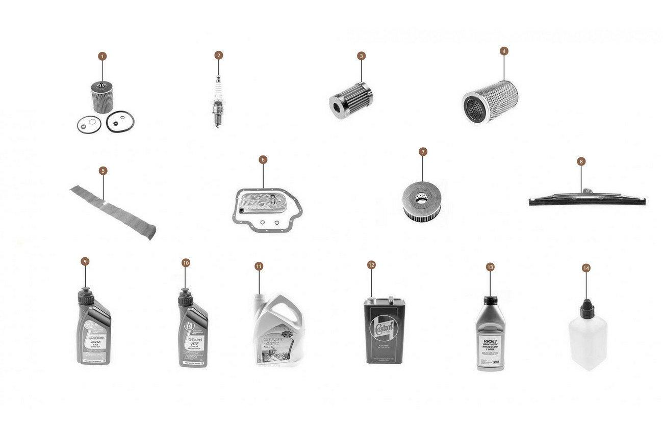 Maintenance & Service Parts