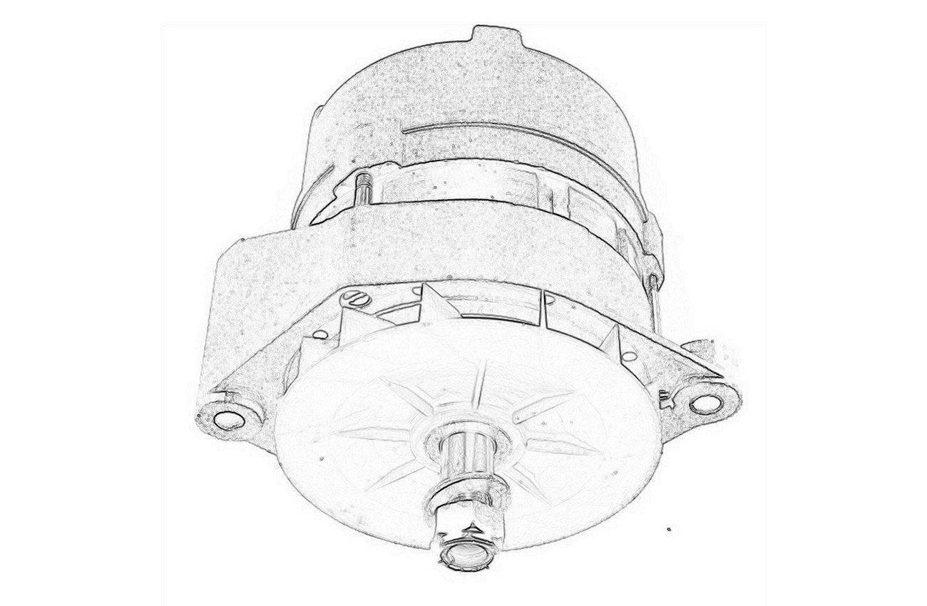 VIN 07412-onwards (Alternator CAV)