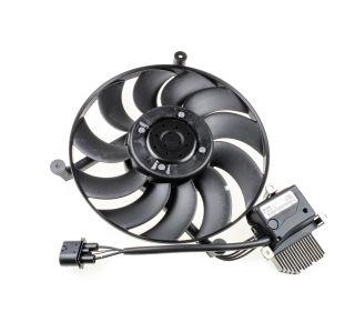 Left radiator fan, motor & ECU (fan 1/LH)