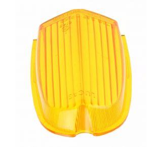 Lens amber front flasher (upper)