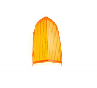 Rear lens amber (flasher)