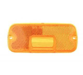 Side marker amber lens