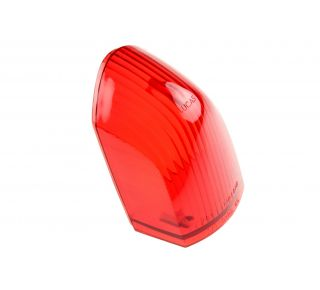 Rear lens red