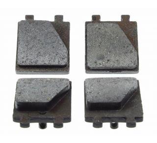 Parking brake pads set