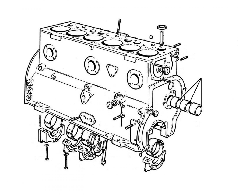 20721 Engine - Camshaft Bearings