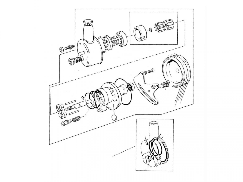31084 Steering pump UE39652 - VIN 01001 till 16930