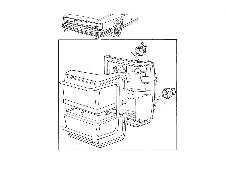 40692 Rear Lamps & Indicators - Indicator