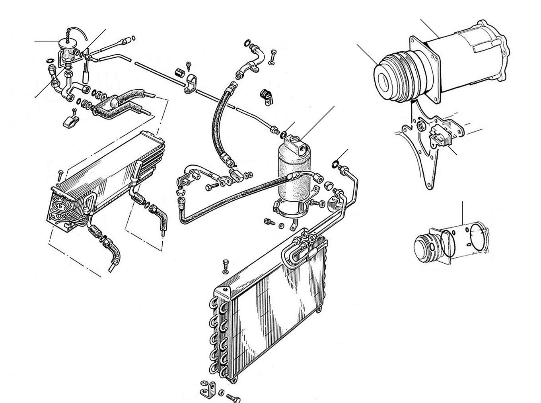 30202 Compressor Drier Expansion Valve - Compressor & Drier & Expansion Valve