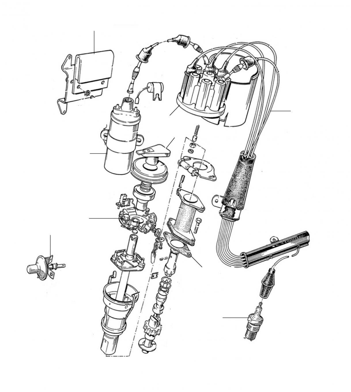31028 Distributor 22118-27000 (electronic) - Distributor Parts
