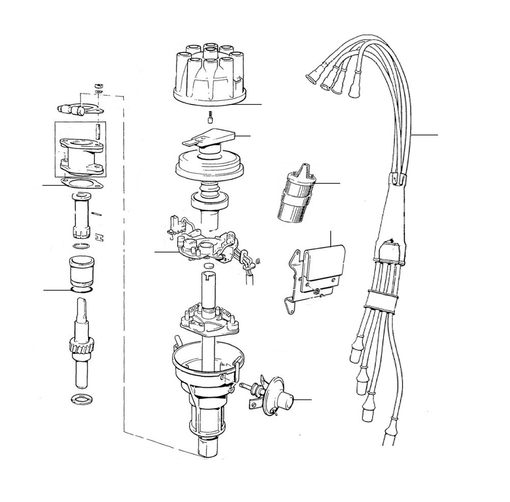 31032  Distributor 30001-41601(electronic) - Distributor Parts