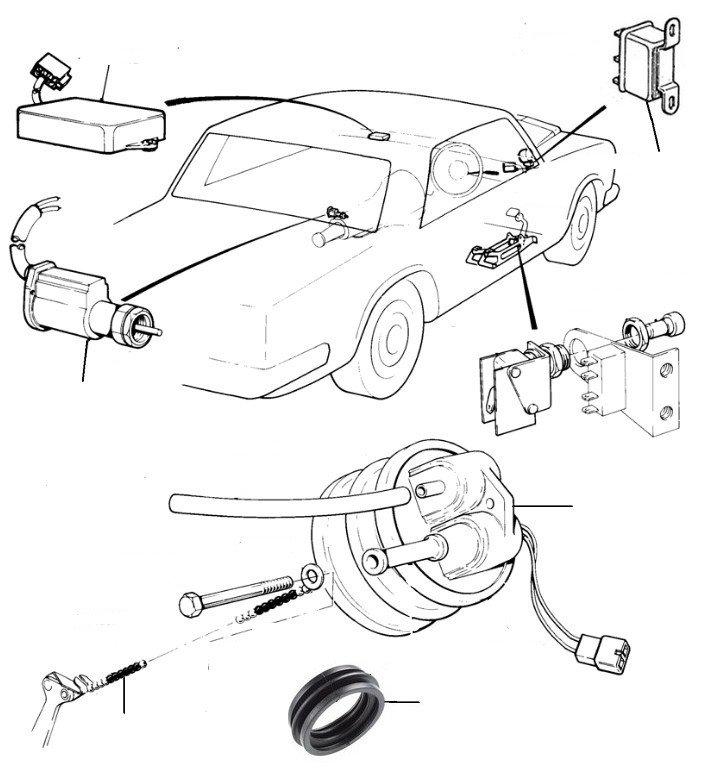 30954 automatic speed control - Solex Carburettor 2 Door Cars