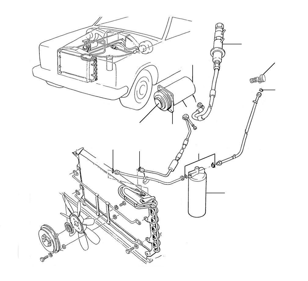 30220 Compressor Drier Expansion valve - Compressor & Drier & Expansion Valve