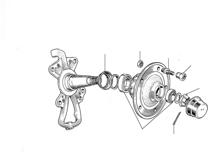 31210 Hub & Wheel Bearings 01001-13485 - VIN 01001 till 13485