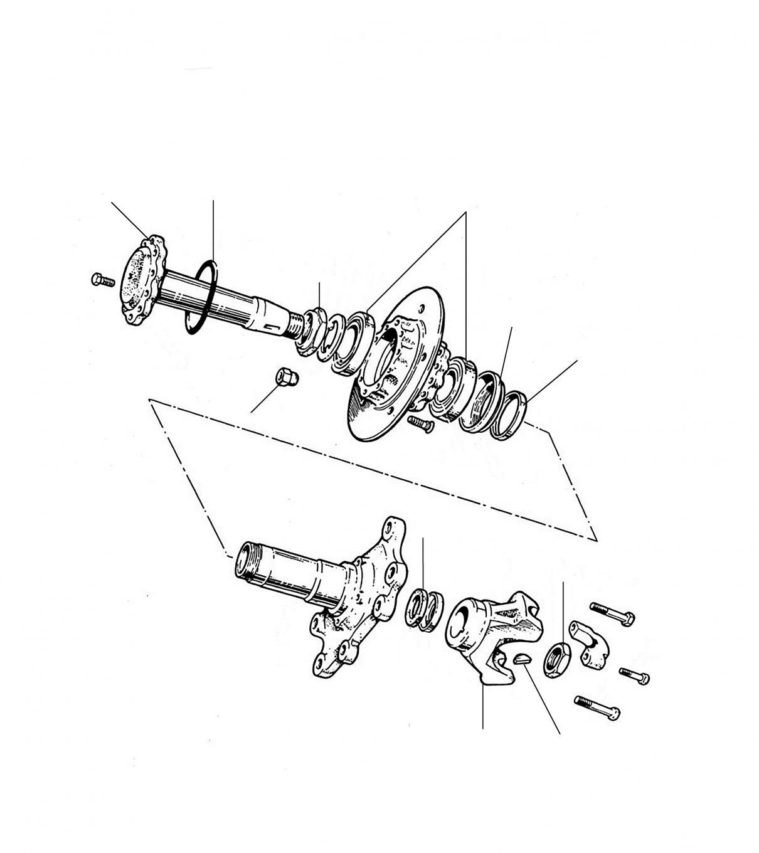 31270 Rear wheel hub - Hub & Wheel Bearing