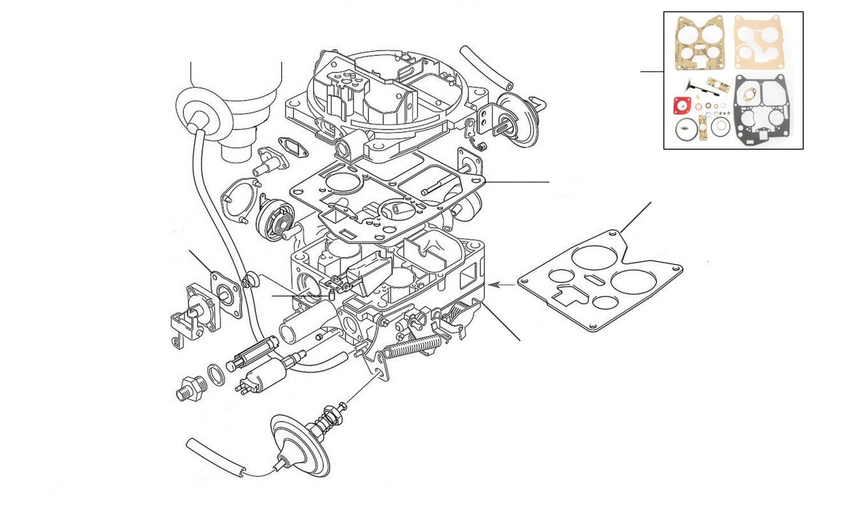41504 Carburettor Solex - Solex Carburettor