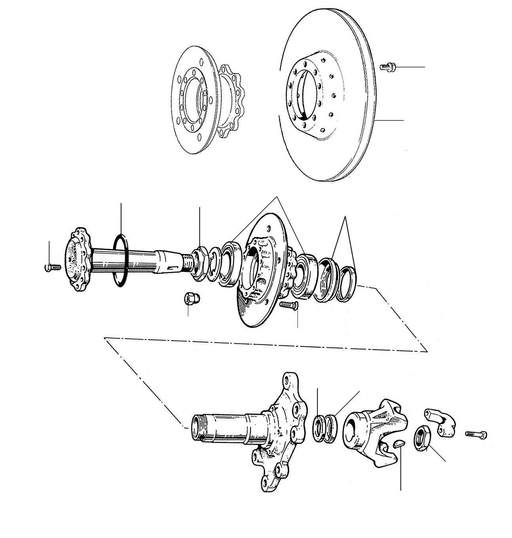 40460 Rear Brakes Discs 01001-20000 - VIN 01001 till 20000