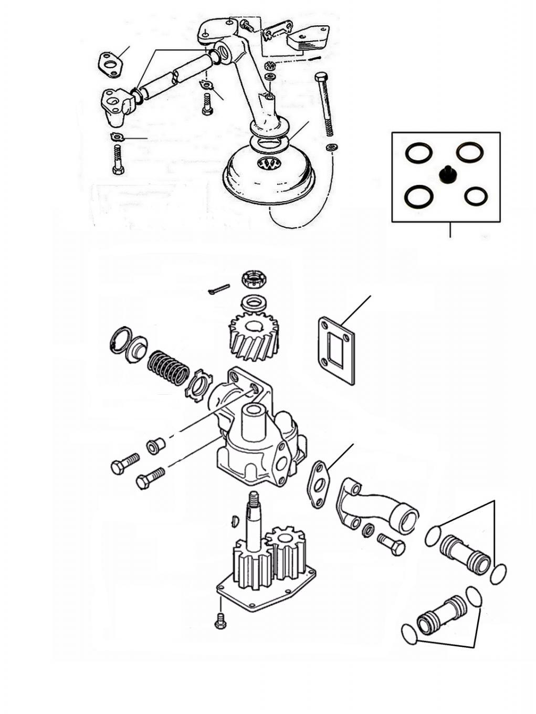 41071 oil pump gaskets - Oil Pump Gaskets
