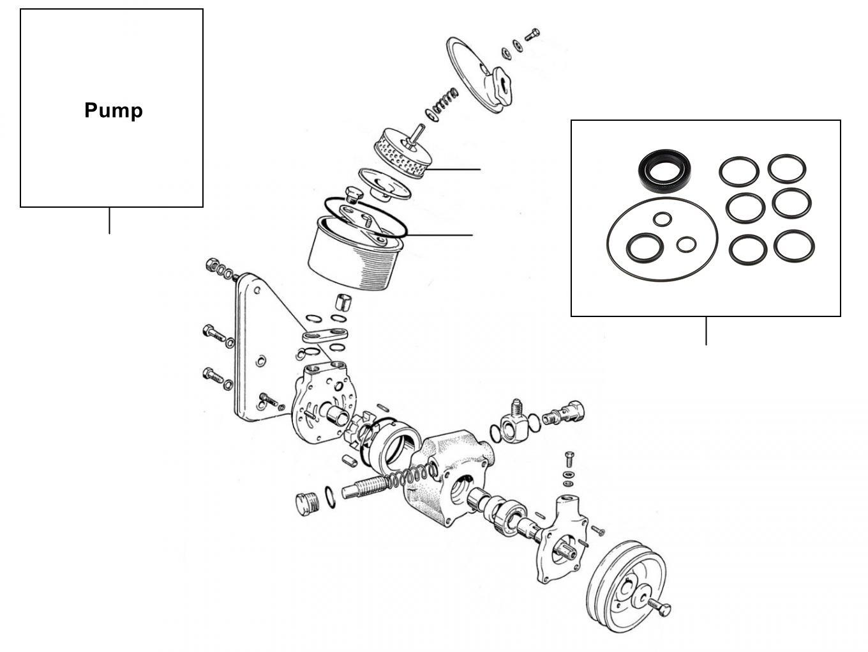 31080 Steering pump - VIN 01001-04548 (Hobourn Eaton pump)