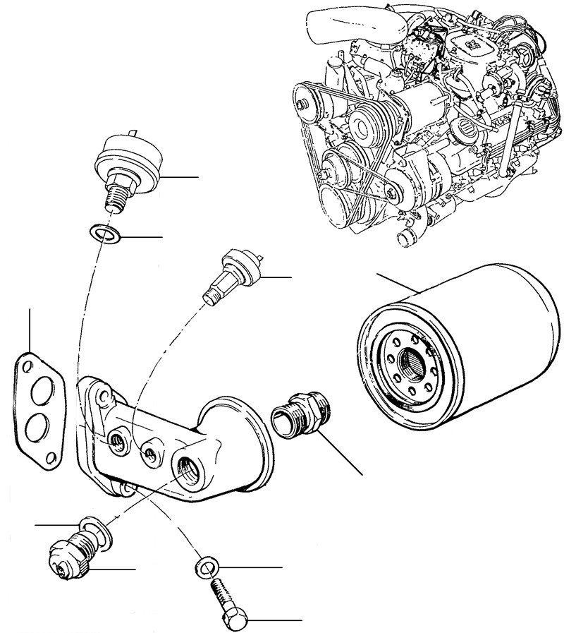 30739 oil filter - VIN 39528-onwards (except USA & Japan)