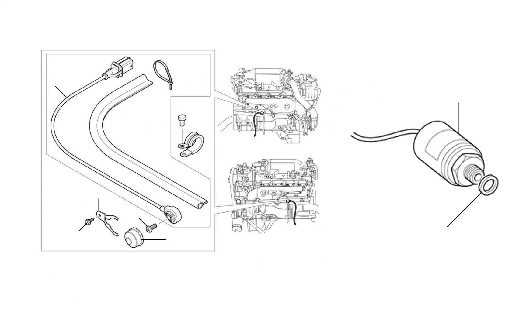 50248 Engine Knock Sensors Bentley Arnage R, T & Azure - Electrics