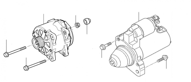 60436 Alternator and starter motor - Alternator & Starter Motor