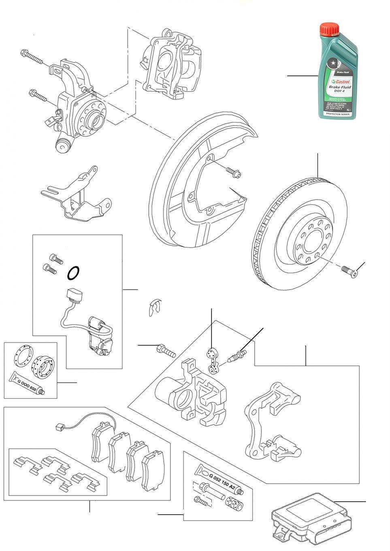 60202 Rear brakes - 2005-2019