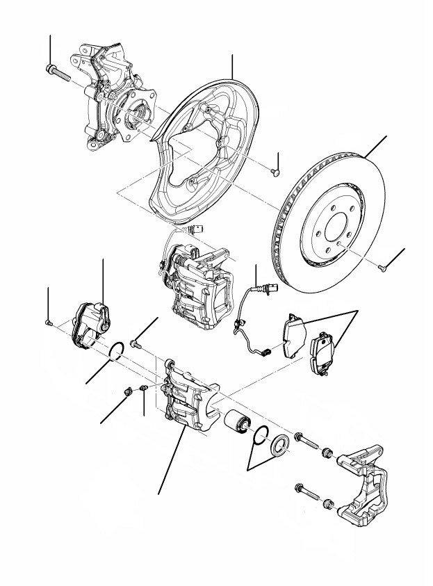 Rear brakes bentayga - Rear Brakes