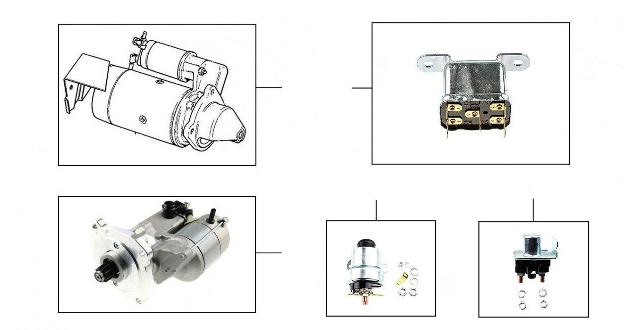 30579  Starter Motor & Solenoids  - Starter Motor & Solenoids