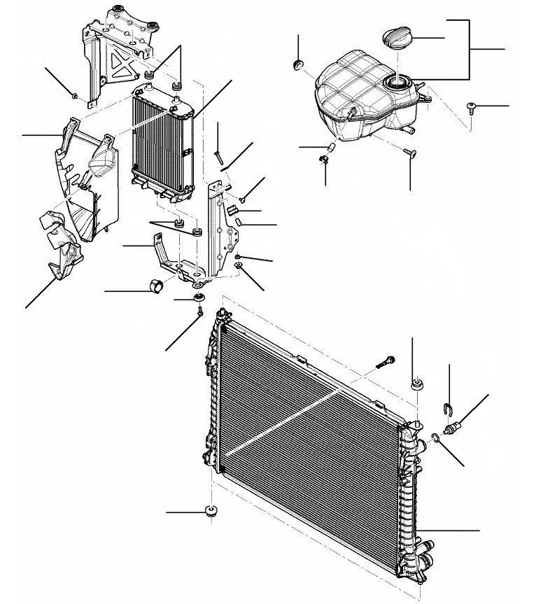 radiator gt v8 - 2011 till 2014