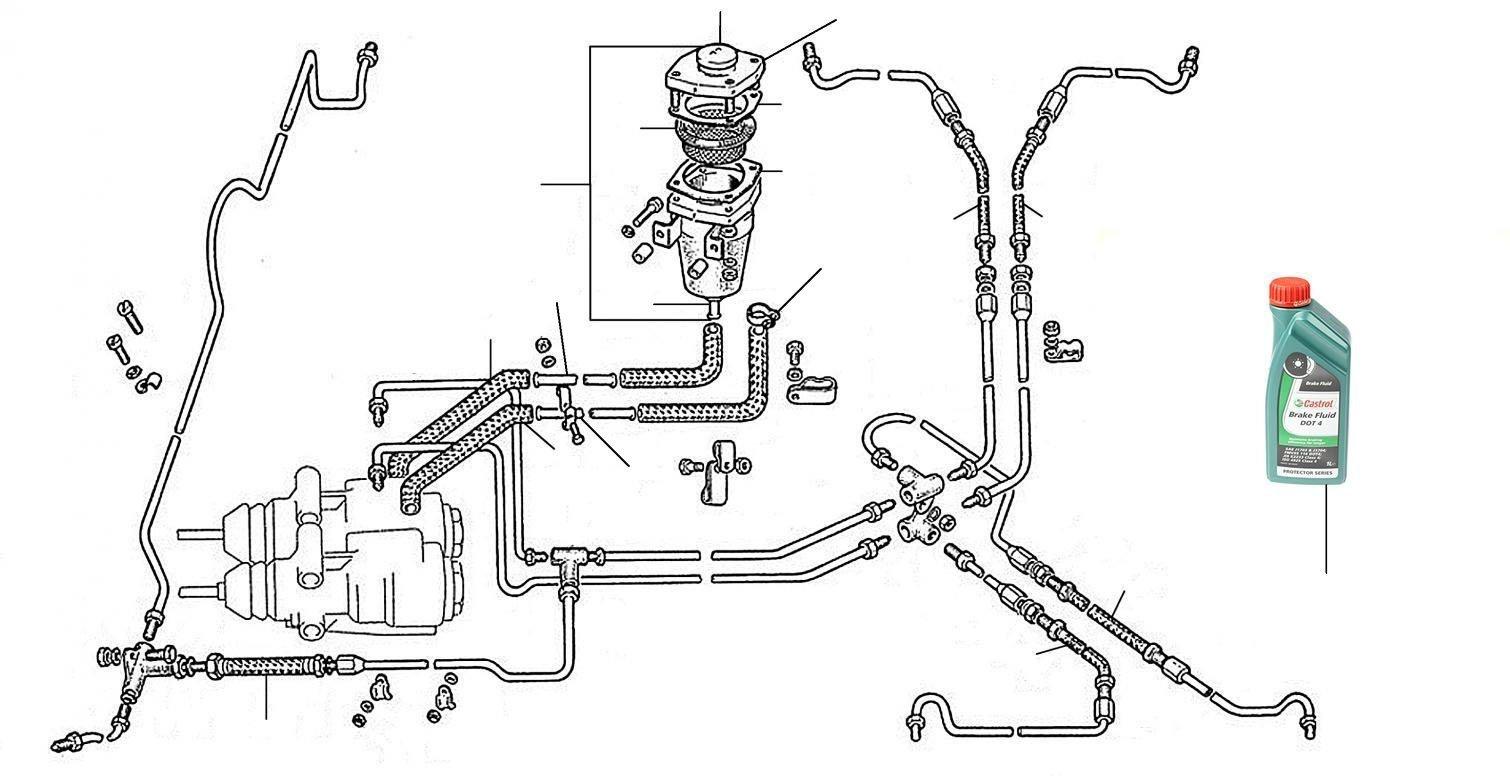 20304 Brake reservoir - Brake Hoses