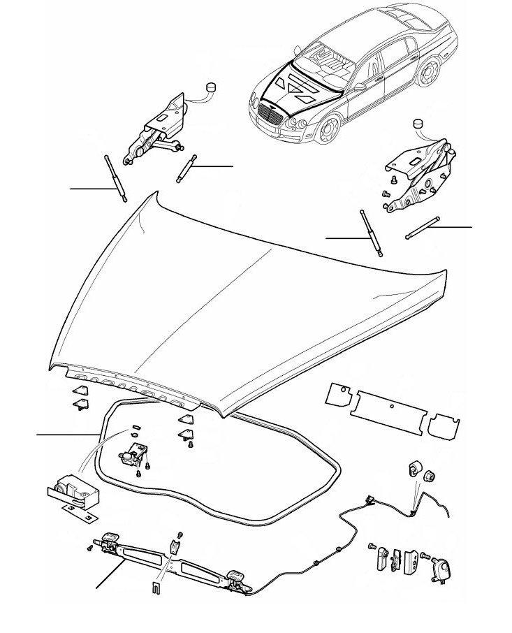 Bonnet GT 2004-2011 - 2004-2011