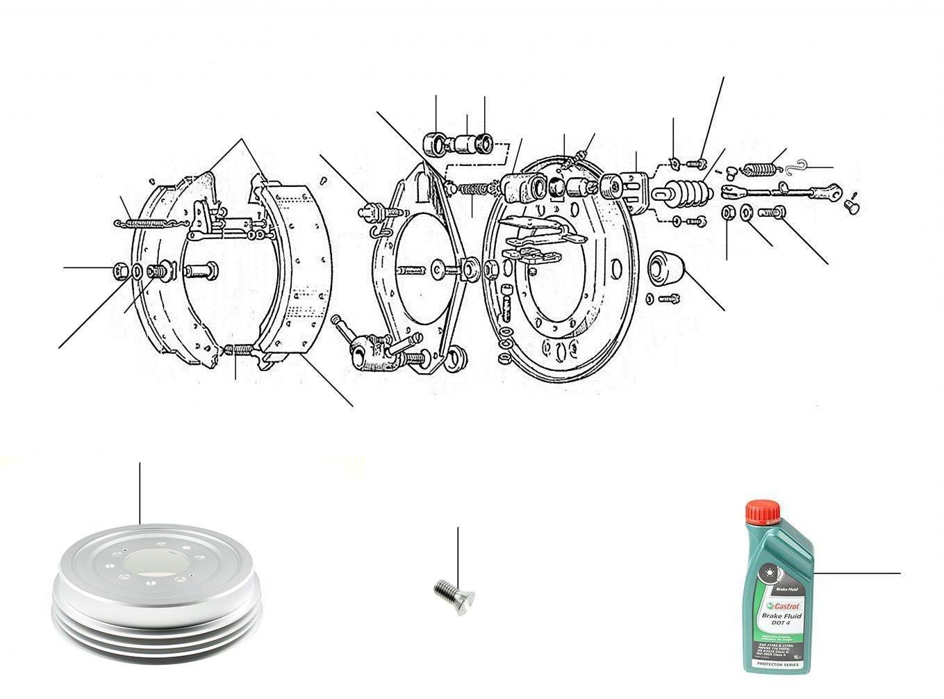 rear wheel cylinder s2-s3 - S/Cloud II & III